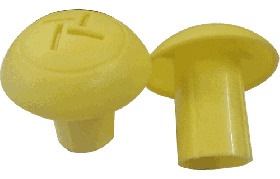 KRM LOTO  - MUSHROOM TYPE REBAR SAFETY CAP (set of 50 pcs) size- 8-16mm