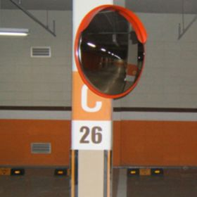 Wall Clamp Convex Mirror