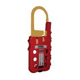 De Electric ABS Multipurpose Cable lockout Device Red/Yellow  (with  option of cable as require )