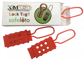 Di electric Hasp with 6 holes (Set of 3 pcs)