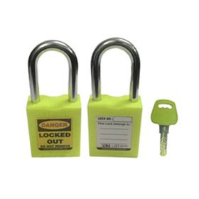 OSHA SAFETY LOCK TAG PADLOCK – METAL SHACKLE-GREEN