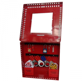 KRM LOTO –48H2P- PORTABLE/ wall mounted  GROUP LOTO  BOX ( without material )
