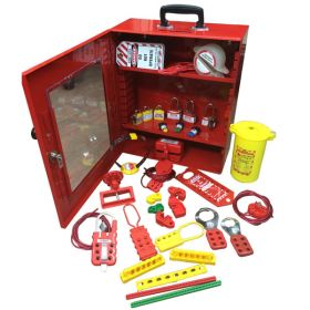 KRM LOTO ELECTRICAL LOCKOOUT TAGOUT STATION KIT