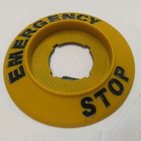 25pcs KRM LOTO - ELECTRICAL PANEL EMERGENCY STOP SIGN-6622