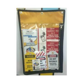 Lockout Permit Document Holder Black Without Material