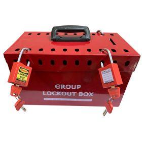 KrmLoto – Portable Group Lockout Box 20 Holes
