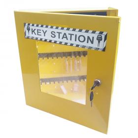 KRM LOTO – LOCKABLE LOCKOUT TAGOUT KEY STATION-375