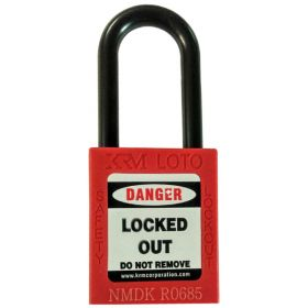 OSHA Safety Isolation Lockout Padlock - Nylon Shackle with Differ Key