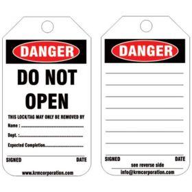 25pcs - KRM LOTO DANGER - DO NOT OPEN