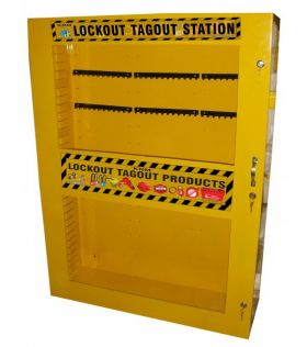 Lockout Tagout cabinet without Material