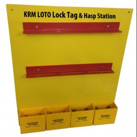 KRM LOTO Lock Tag Center/Station without material