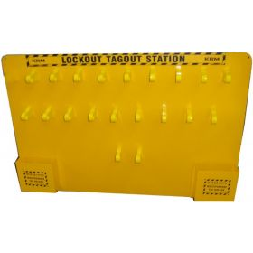 KRM LOTO - LOCKOUT TAGOUT PADLOCK CENTER / STATION WITHOUT MATERIAL