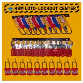 KRM LOTO - LOCKOUT CENTER (WITHOUT MATERIAL)