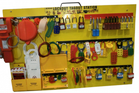 KRM LOTO - LOCKOUT TAGOUT PADLOCK CENTER (WITHOUT MATERIAL)