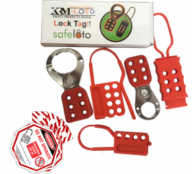 KRM LOTO – LOCKOUT TAGOUT SAFETY HASP-103