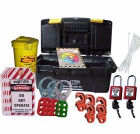 MINI ELECTRICAL LOCKOUT TAGOUT BOX -21