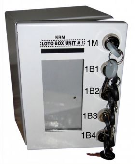 Key Safe Group Lock Box with 5 Locks