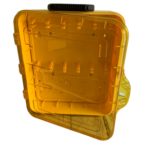 KRM LOTO - MOLDED LOCKOUT TAGOUT STATION  (WALL  MOUNTED AS WELL AS CARRYABLE  ) WITHOUT MATERIAL