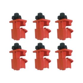 6pcs KRM LOTO   MULTI-POLE UNIVERSAL CIRCUIT BREAKER LOCKOUT