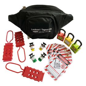 KRM LOTO –  OSHA LOCKOUT TAGOUT ELECTRICAL POUCH KIT - 3037