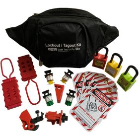 KRM LOTO –  OSHA LOCKOUT TAGOUT ELECTRICAL POUCH KIT - 3038