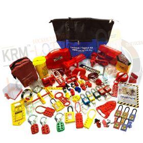 KRM LOTO - OSHA LOCKOUT TAGOUT KIT-10EM-53166 (ELECTRO-MECH)