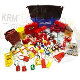 KRM LOTO - OSHA LOCKOUT TAGOUT KIT-10EM (ELECTRO-MECH)