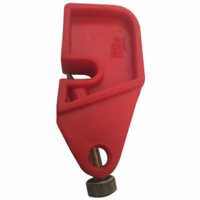Universal Fuse / Circuit Breaker Lockout Devices with Foldable Screw