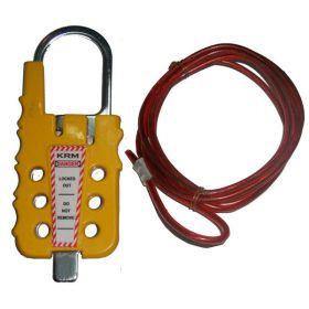 Multipurpose Cable Lockout - Yellow