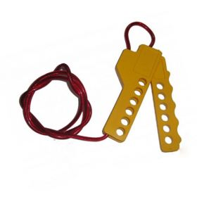Multipurpose Scissor Cable Lockout Yellow