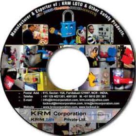 Lockout Tagout CD having Presentation Data / Movie in 3D