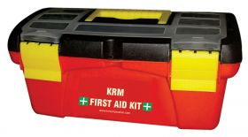 MOLDED FIRST AID BOX