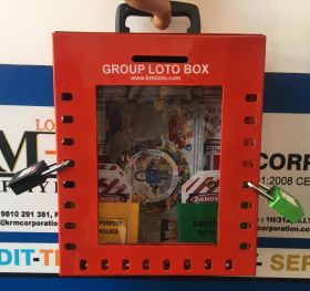 KRM LOTO –24H2P PORTABLE/ wall mounted  GROUP LOTO  BOX ( without material )