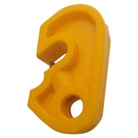 Mini Circuit Breaker Lockout - Yellow