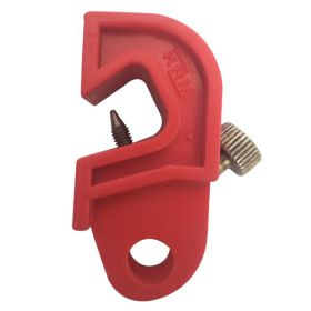 Universal Circuit Breaker Lockout with Special Foldable Screw