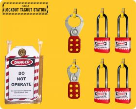 Lockout Tagout Centre / Station - without material