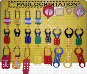 Lockout Tagout Padlock Center/Station (without material)