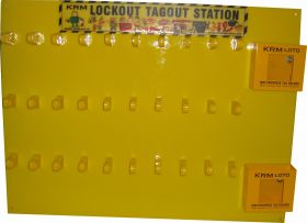 Lockout Tagout Padlock Center (without material)