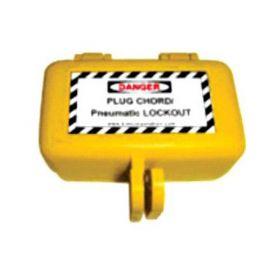 Mini Plug Chord Lockout Device - Yellow
