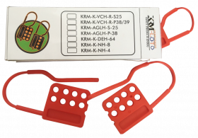 Di-electric Multi Device HASP with 8 holes  (Set of 3 Pcs)