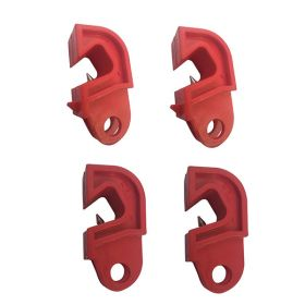 4pcs Universal Circuit Breaker Lockout with normal screw - 2 PLAIN + 2 WITH NOSE