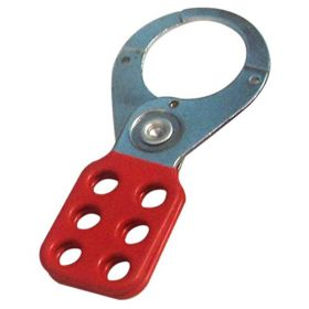 Vinyl Molded coated Hasp-STEEL - Premier -jaw dia -38/39 mm