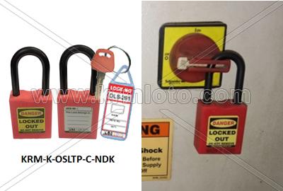 OSHA Safety Lockout di-Electric Padlock