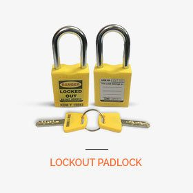 safety lockout padlock
