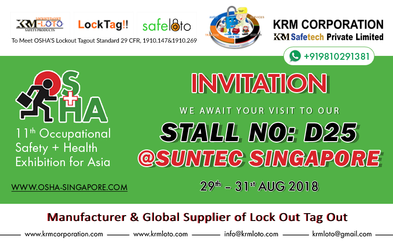 OSHA 11th Occupational Safety + Health Exhibition for Asia